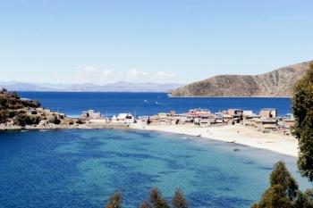 La baie de Machamachani - Cha'llampa - Isla del Sol Nord