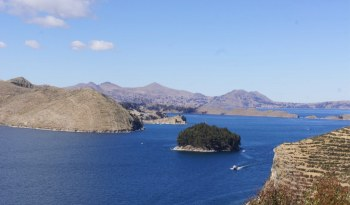 Arrivée d'un bateau sur l'Isla del Sol