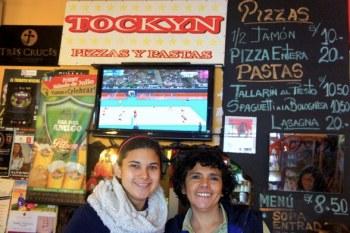Roxana (à droite) et sa soeur : las SUPER dueñas del Tockyn