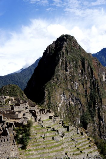 vue du Machu Picchu et de Wayna Picchu - découvrir machu Pichu - Aguas Calientes