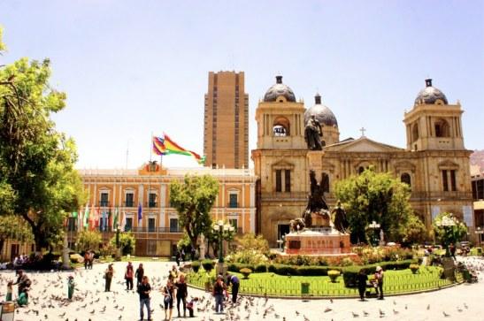 Plaza Murillo - Centre ville de La Paz - Visiter la Paz