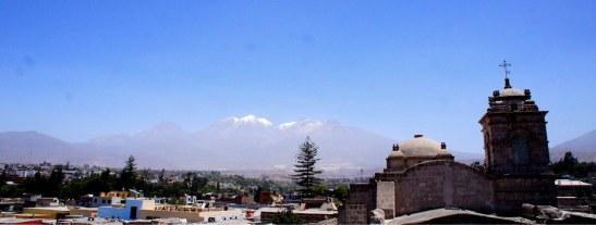 Couvent Santa Catalina - vue de l'hôtel Caminante Class