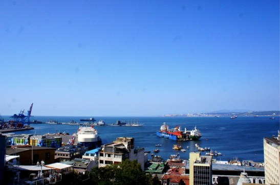 Vue sur la baie de Valparaiso - Hotel Boutique 17