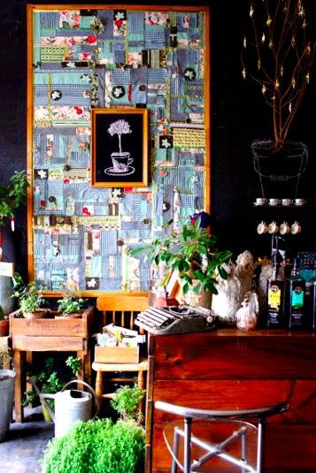 la Casa del Jardin - café Valparaiso