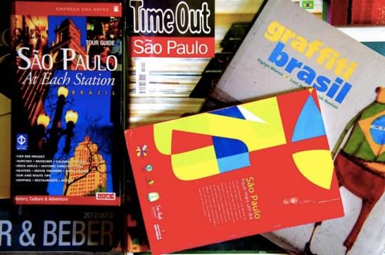 cool guides de Sao Paulo à disposition au Hey Hostel