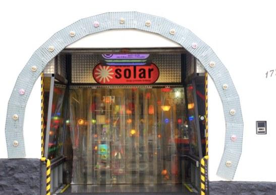 Devanture boutique Solar - gadgets et Déco - blog voyage