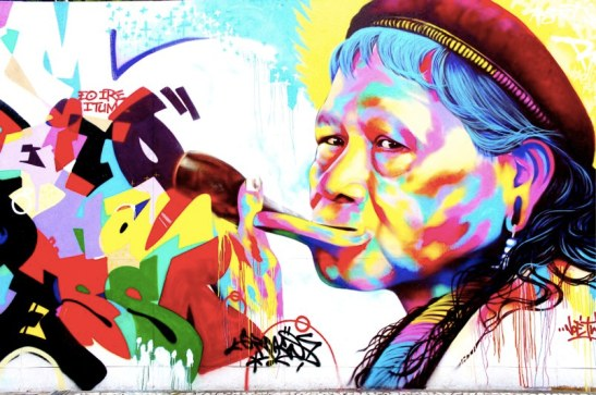 MUBE Sao Paulo - biennale internationale de street art - blog voyage