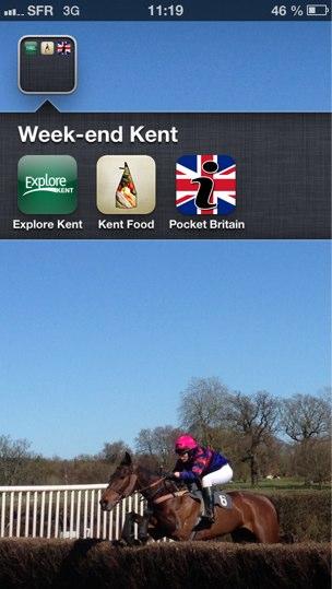 Applications Iphone à Télécharger pour découvrir le Kent