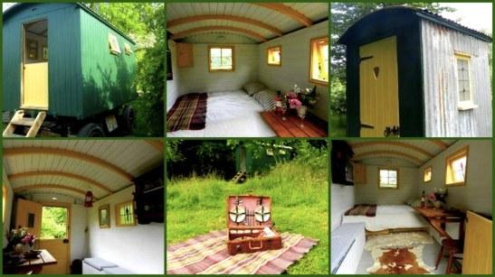 Hébergement nomade - Dormir en roulotte - dormir dans le Kent