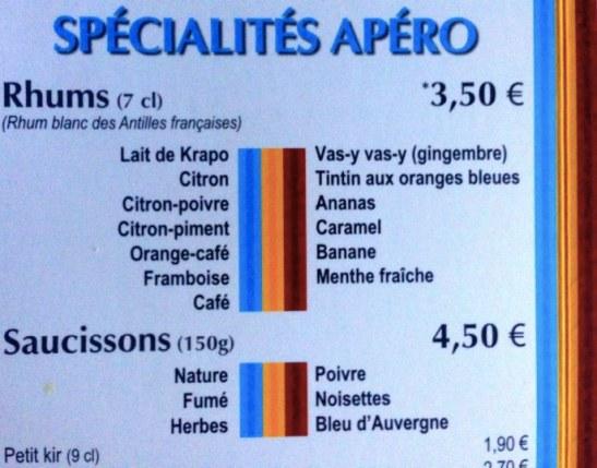 Apéro Crapaud Rouge - rhumerie Treveneuc