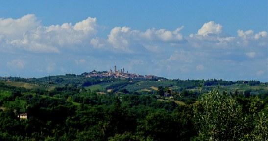San Giminiano - Road Trip Toscane - Route des vins : Chiantigiana