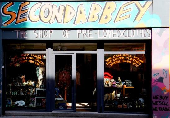 Second Abbey Dublin - friperie brocante - shopping vintage