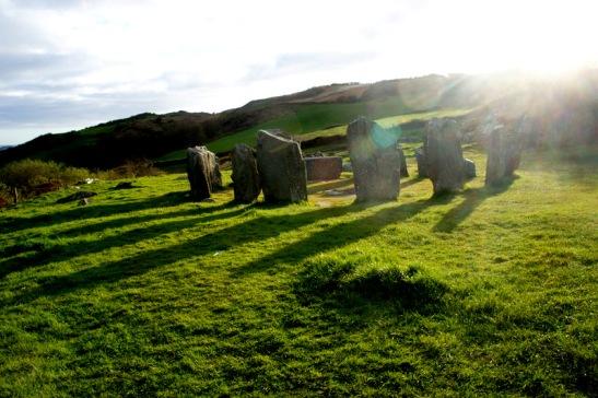 Dromberg Stone circle - West Cork Coastal Drive - road trip Irlande - jean voyage